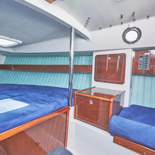 Scholtz 8.8 sailboat charter | Füredyacht Charter
