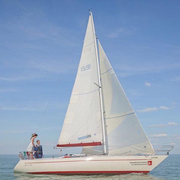 Senorita Helmsmann 31 sailboat charter | Füredyacht Charter