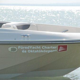 Bayliner E-Element XL e-hajó bérlés   Füredyacht Charter